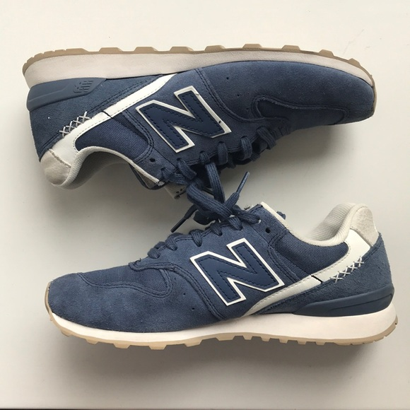 info for 92dc7 75977 Navy suede new balance 696